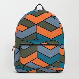 Geometric Pattern Design Backpack