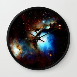 Galaxy Nebula : Messier 78 Wall Clock