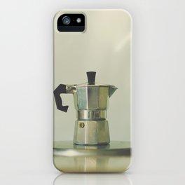Italian moka pot. iPhone Case