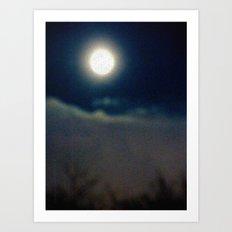 Symphony of Moon Art Print