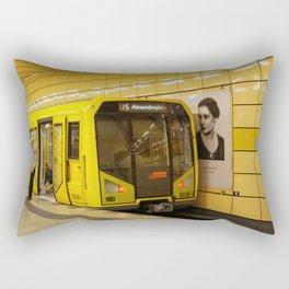 Off to Berlin! Rectangular Pillow