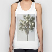 palm tree Tank Tops featuring Palm Tree by Pure Nature Photos