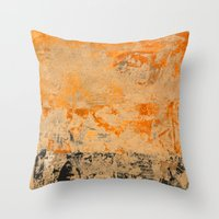 islam Throw Pillows featuring Silk Road by Fernando Vieira
