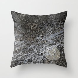 Rugged terrain Throw Pillow
