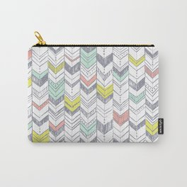 Sunset Chevrons  Carry-All Pouch