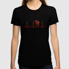 Cosplaying Heartbeat T-shirt