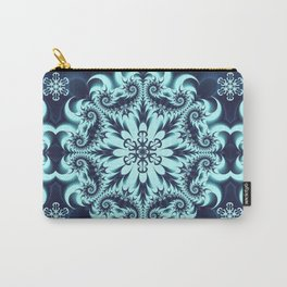 The Blue Snowflake I Carry-All Pouch
