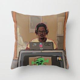 It's Me Man. Throw Pillow