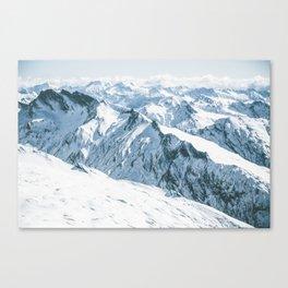 Aspiring range Canvas Print