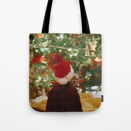 Santa Claus Is Coming To Town 4 #painting Tote Bag
