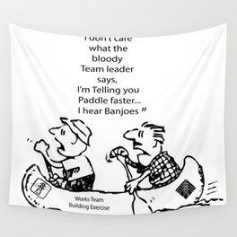 I Hear Banjos  Wall Tapestry