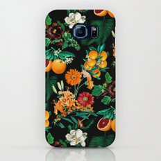 Fruit and Floral Pattern Galaxy S6 Slim Case