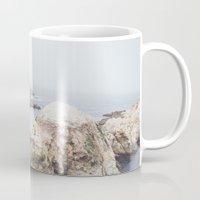 salt water Mugs featuring Salt Flats by Jessica Pei