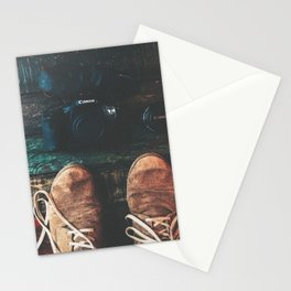 SHOES - CANON - CAMERA - PHOTOGRAPHY Stationery Cards
