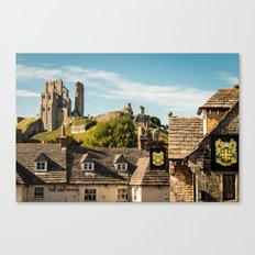 Corfe Castle (2) Canvas Print