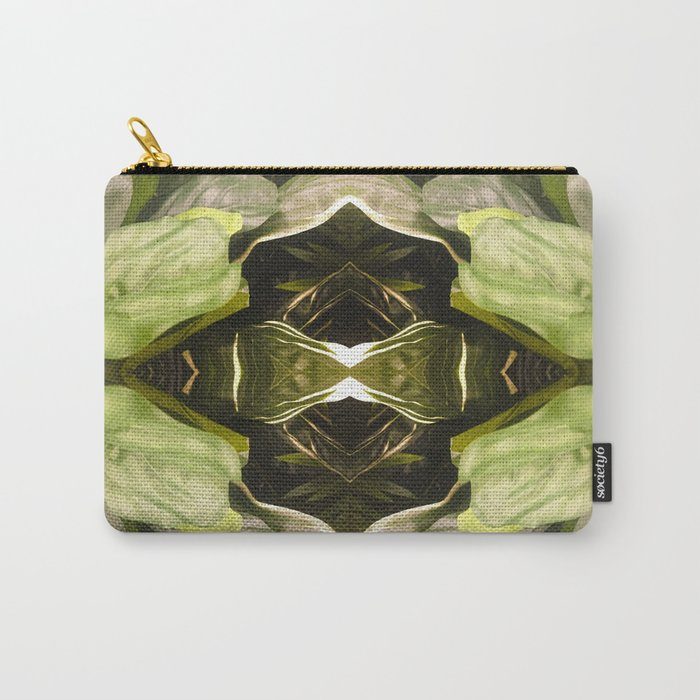 357 - Abstract Garden Design Carry-All Pouch