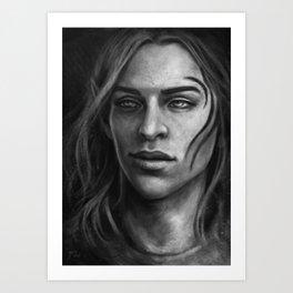 Zevran Arainai Art Print