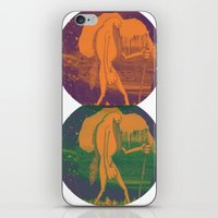 iron giant iPhone & iPod Skins featuring Giant by Aimee MaCray