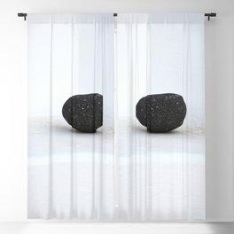 The Black Stone Blackout Curtain