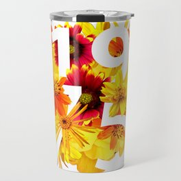 Flower 1975 Travel Mug