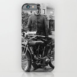 Grandpa's Cyclone Motorcycle iPhone Case