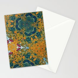 Orange and Green Flora Stationery Cards