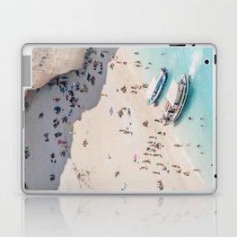 to the beach Laptop & iPad Skin