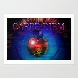 Carpe Diem 20 Art Print