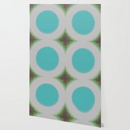 Blue and Green Fuzz Wallpaper