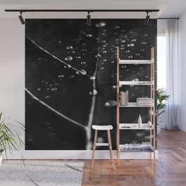 ART PRINT in Black and White Wall Mural