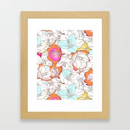 Early Bloomer #society6 #decor #buyart Framed Art Print