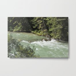 The Rush of the River 1 Metal Print