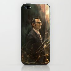 The Abyss Gazes Back iPhone & iPod Skin