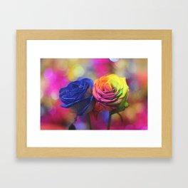Colour Your Life Framed Art Print