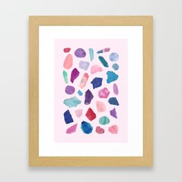 Crystalarium Framed Art Print