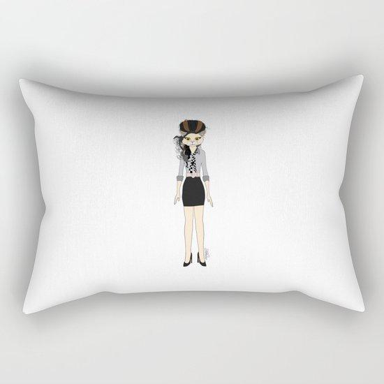 Amy Cat Rectangular Pillow