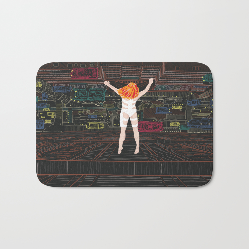 Leeloo - The Fifth Element Bath Mat by Munamia BMT7742859