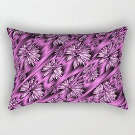 colored subtle pattern Rectangular Pillow