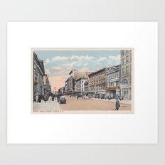 North Pearl Street, Albany, NY Art Print