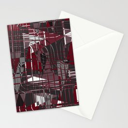 Land of Red Stationery Cards