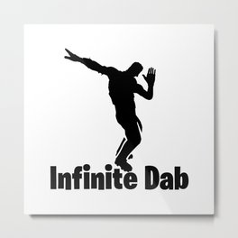 Infinite Dab Metal Print