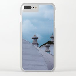Dairy Barns at Creamers Field, Fairbanks Alaska Clear iPhone Case