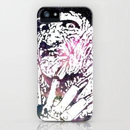 Galaxy Robert Englund Freddy Krueger iPhone Case