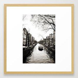 Amsterdam Canals I Framed Art Print
