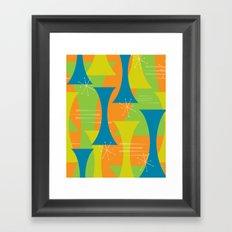 Mod Motion Framed Art Print