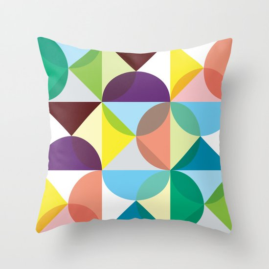 Geometry for Modern Houses (2010) Throw Pillow