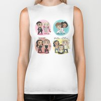 cyrilliart Biker Tanks featuring Adventures of 1D & LM by Cyrilliart