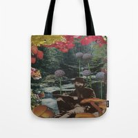 reading Tote Bags featuring reading by Eleanor Boersma