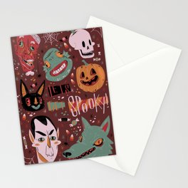Let's Get Spooky! Stationery Cards