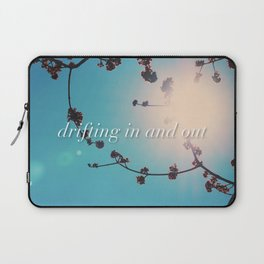 DRIFTING IN AND OUT Laptop Sleeve